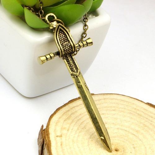 Collar Game Thrones Edged Sword Dagger Daga Espada Potter