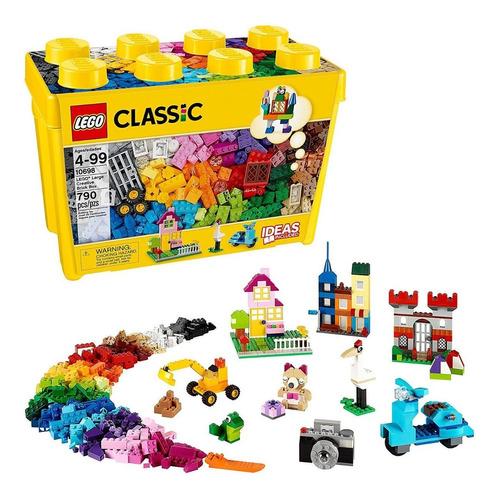 Caja De Ladrillos Creativos Grandes Y Clásicos Lego 10698