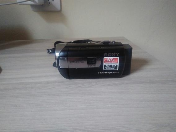 Filmadora Sony Handycam Dcr-pj5 Com Projetor
