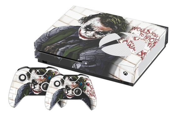 Skin Xbox One S Coringa Heath Ledger