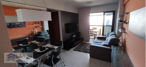 Imagem 1 de 22 de Apartamento À Venda, 72 M² Por R$ 600.000,00 - Caminho Das Árvores - Salvador/ba - Ap1365