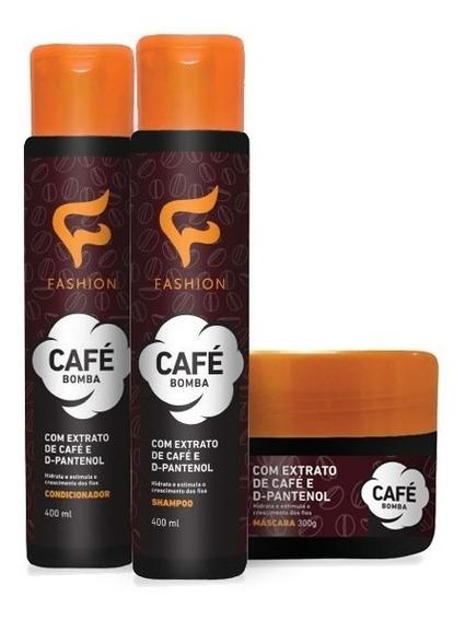 Fashion - 18 Produtos De Tratamento Capilar Café Bomba