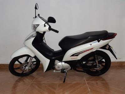 Honda Biz 125 Ex 2015 Branca