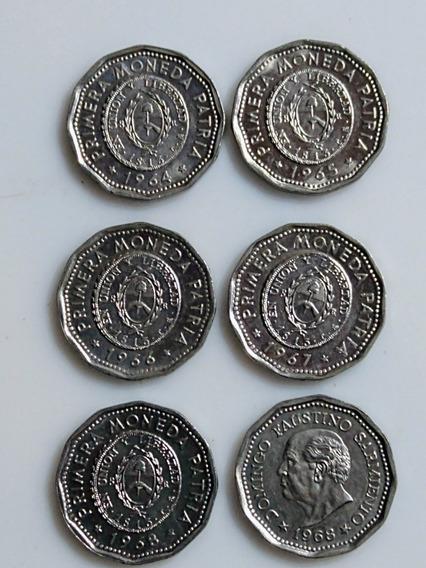 Primer Moneda Patria,serie Completa