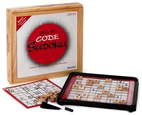 Deluxe Code Sudoku Con Bonus Travel Version
