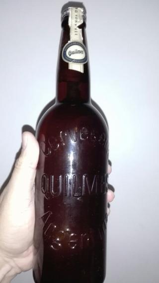 Botella De Colección Cerrada Cerveza Quilmes 115 Años 650ml