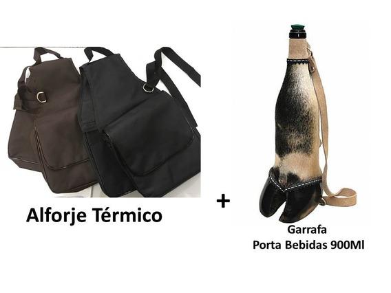 Alforge Térmico + Porta Bebidas + Frete Grátis