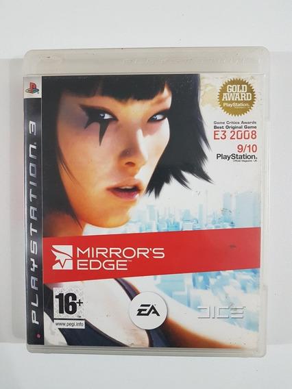 Capa Mirrors Edge Original Para Playstation 3