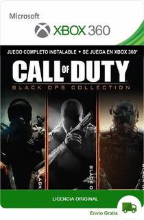 Call Of Duty Black Ops 1 2 3 Xbox 360 Digital Oferta Lic