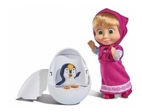 Boneca Masha E O Pinguim 10 Cm Desenho Sunny
