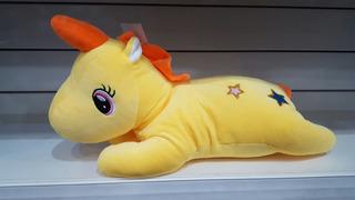 Peluche Unicornio Almohadon Varios Colores Pumy July Toys