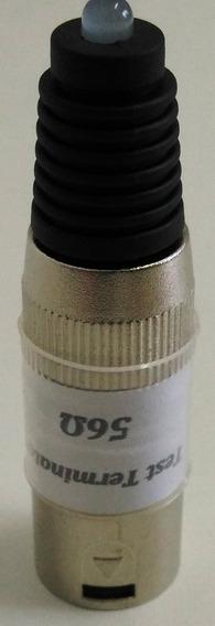 Dmx Terminador Terminal Com Led Conector Xlr 120 Ou 56 Ohms