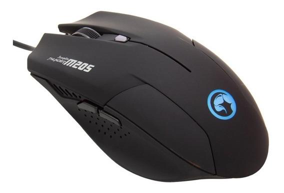 Mouse Gamer Marvo M205bk 2400dpi 6 Botões