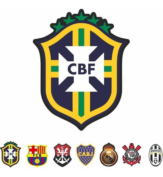 Adesivo Futebol Brasileiro Libertadores Champions Kit 24pcs