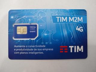 Chip M2m Tim Gms/ Grps Telemetria P/ Rastreadores, Arduíno