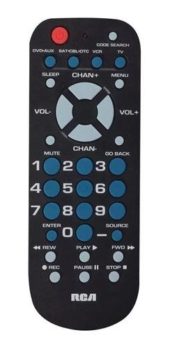 Control Universal Rca 3 En 1 Para Tv/decodificadores/dvd