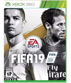 Fifa 19 Xbox 360 Midia Digital Portugues Completo !!!