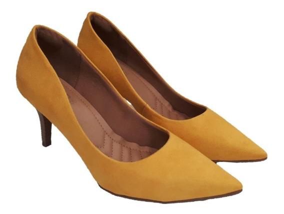 Sapato Scarpin Feminino Bebecê 7010-257 Em 3 Cores.