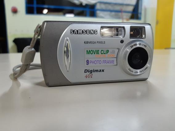 Câmera Digital Samsung 4.0 Megapixels Digimax 401