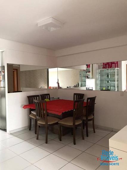 Ótimo! Apartamento Com 3 Dormitórios À Venda, 97 M² Por R$ 680.000 - Rosarinho - Recife/pe - Ap10231