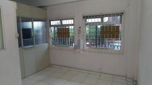 Sala, 52 M² - Venda Por R$ 170.000 Ou Aluguel Por R$ 700/mês - Piraporinha - Diadema/sp - Sa0211