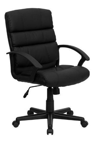 Zuffa Home Furniture Silla De Oficina De Cuero Consolidada