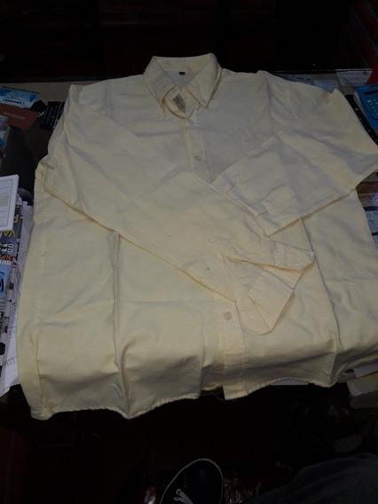 Camisa Oxford Tz Hombre Talle L