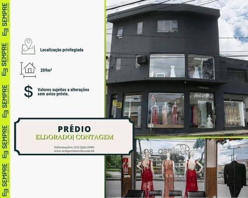 Imagem 1 de 13 de Prédio Comercial Para Alugar, 209 M² - Eldorado - Contagem/mg - Pr0017