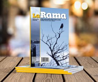 Revista/libro La Rama 01. 100% Temática Literaria Santa Cruz