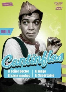 [pack Dvd] Cantinflas Vol.3 (4 Discos)