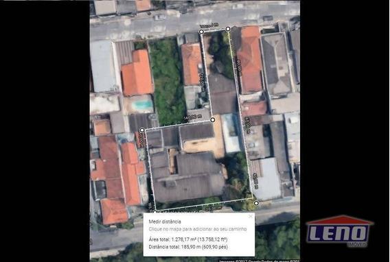Terreno À Venda, 1278 M² Por R$ 4.200.000,00 - Penha De França - São Paulo/sp - Te0021