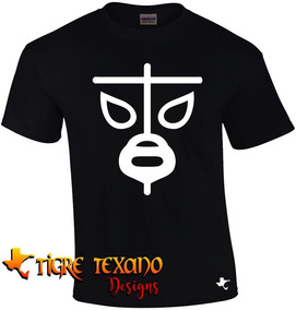 Playera Lucha Libre Black Shadow By Tigre Texano Designs
