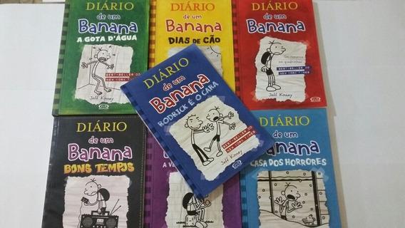 Kit 7 Livros Diário De Um Banana