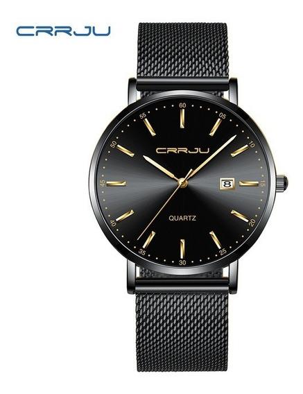 Relógio Crrju 2161 - Masculino- Calendário (pronta Entrega)