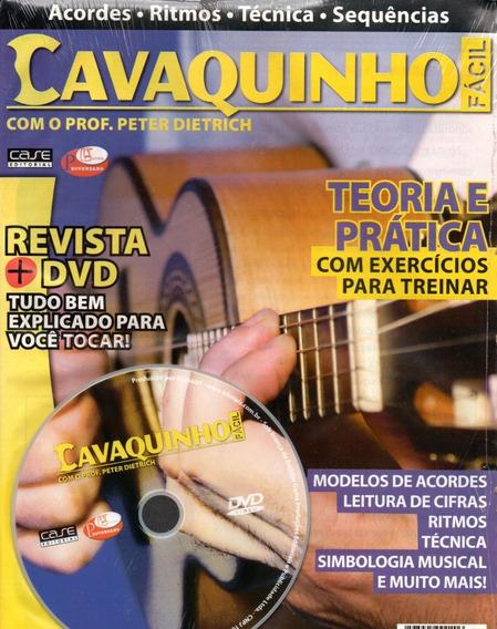 Curso De Cavaquinho Fácil Cd+revista Com Prof. Peter Dierich