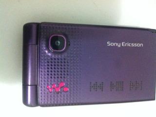 Celular Antigo Sony Ericsson W380 Não Funciona P/ Colecionar