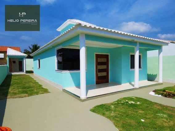 Casa Itaipuaçu 3 Quartos, Com Churrasqueira E Piscina - Ca0321