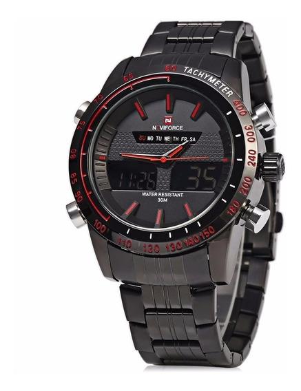 Relógio De Pulso Naviforce Modelo Nf 9024