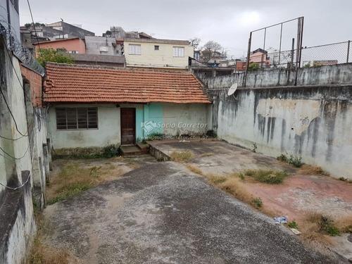 Alugo Terreno 249m² Com Casa Antiga - Vila Augusta - Terreno Para Aluguel No Bairro Vila Maria Tereza - Guarulhos, Sp - Sc00811