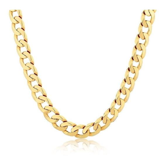 Collar Cadena Francés Eslabon Tipo Chanel Largo En. Gratis