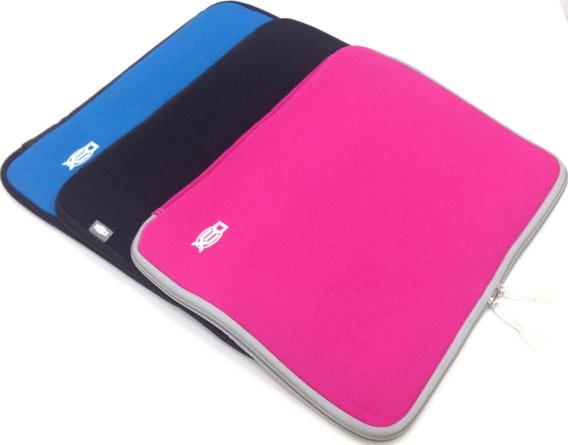 Capa Case P/notebook De Até 14.5# Neoprene C/zíper Ks65-14