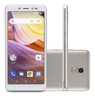 Smartphone Multilaser Ms50g 3g 5,5 Pol. 8gb Dourado/branco