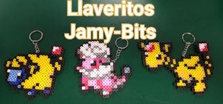 Evolución Completa Pokémon Hama Beads (3 Piezas)