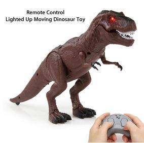Dinossauro De Controle Remoto Com Luz E Voz Frete Grátis