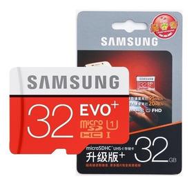 Cartão Memoria Micro Sd 32gb Samsung 95mb/s Frete R$10,00