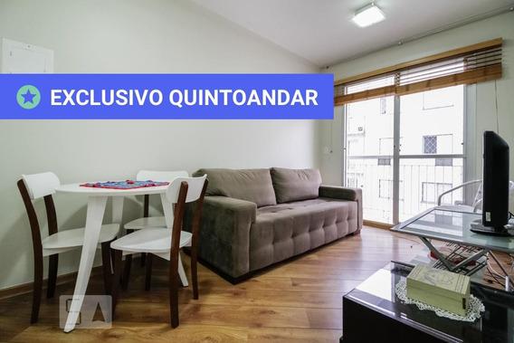 Apartamento No 12º Andar Mobiliado Com 2 Dormitórios E 1 Garagem - Id: 892947674 - 247674