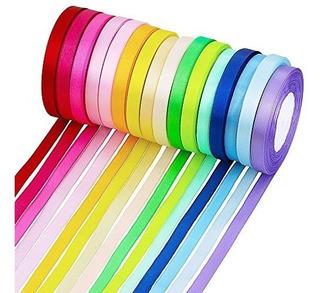 Supla 16 Colores Cinta De Tela De 400 Yarda Rollo De Rollos