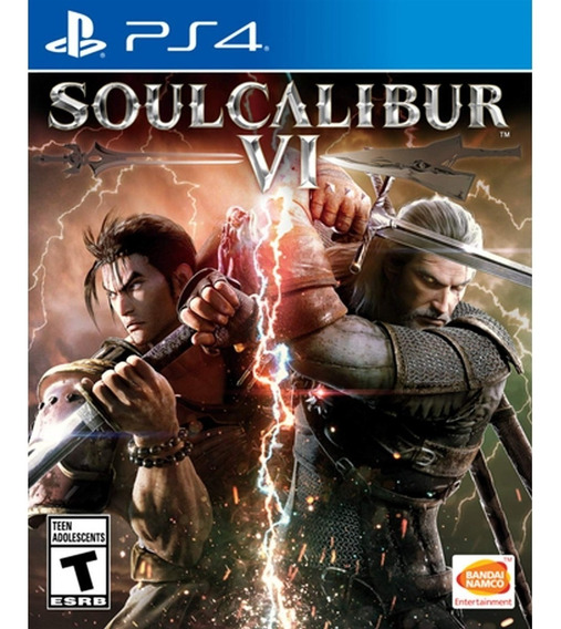Soulcalibur Vi - Ps4 Mídia Física Lacrado