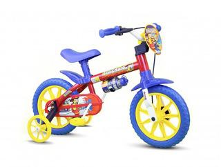 Bicicleta Infantil Aro 12 Fireman Menino - Nathor
