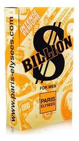 Kit Com 4 Billion $$ Masc.100ml-original-lacrado
